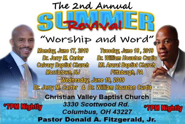 2nd Annual Summer Revival